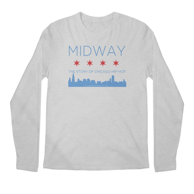 Midway (Chicago) Men's Regular Longsleeve T-Shirt by Midway Shop