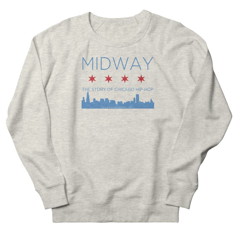 Midway (Chicago) Women's French Terry Sweatshirt by Midway Shop