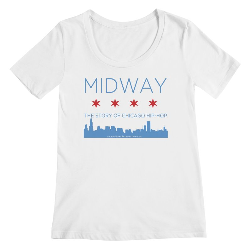 Midway (Chicago) Women's Regular Scoop Neck by Midway Shop