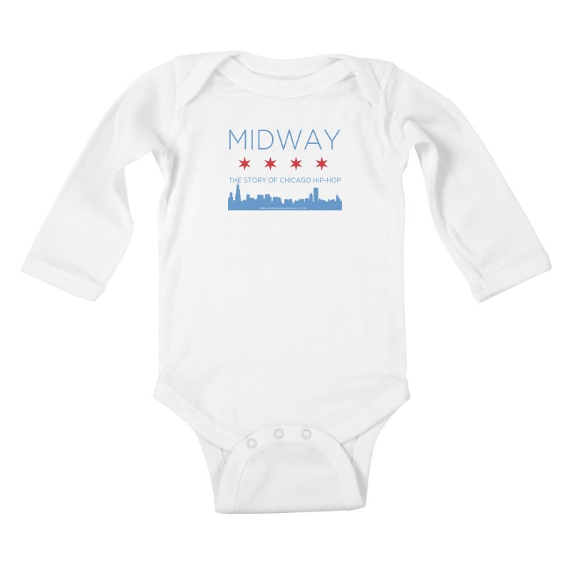 Midway (Chicago) Kids Baby Longsleeve Bodysuit by Midway Shop
