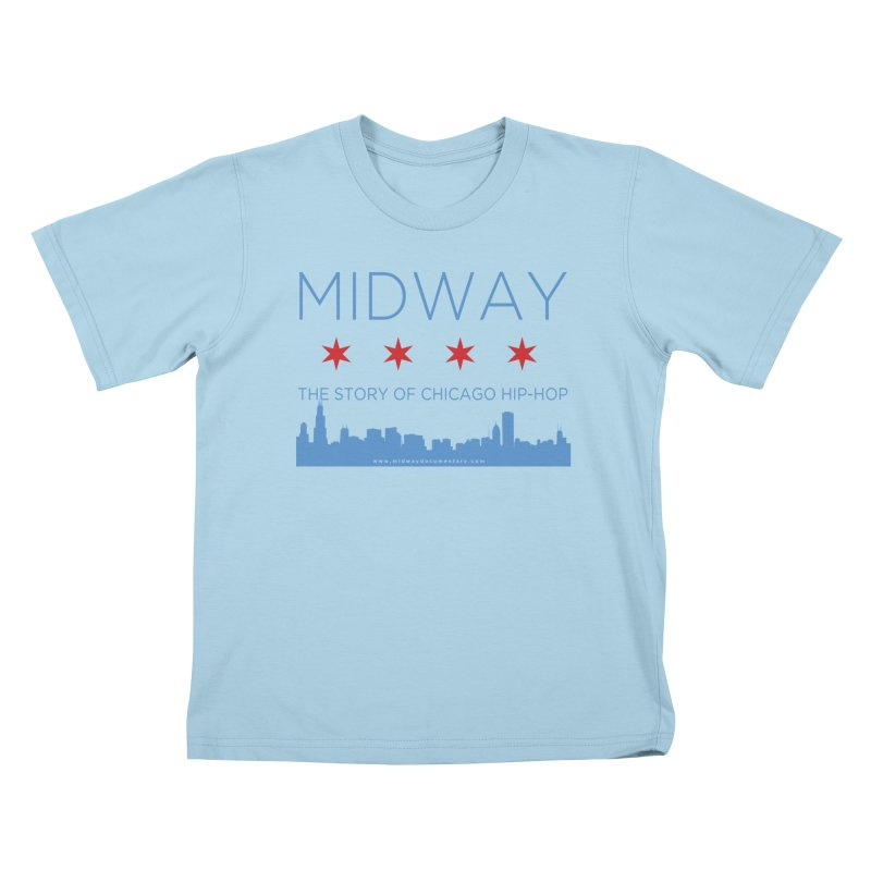 Midway (Chicago) Kids T-Shirt by Midway Shop