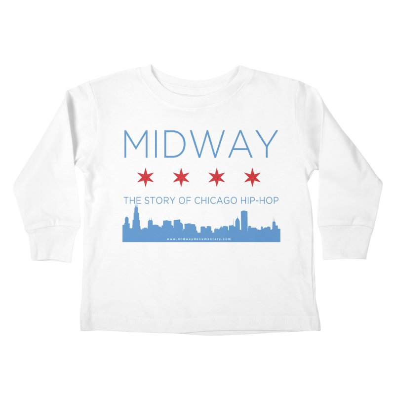 Midway (Chicago) Kids Toddler Longsleeve T-Shirt by Midway Shop
