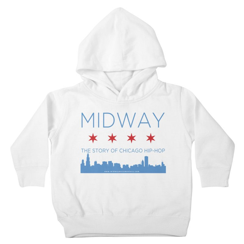 Midway (Chicago) Kids Toddler Pullover Hoody by Midway Shop
