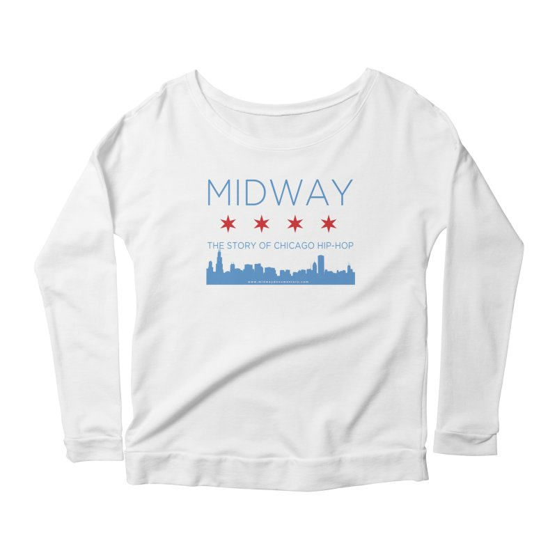 Midway (Chicago) Women's Scoop Neck Longsleeve T-Shirt by Midway Shop