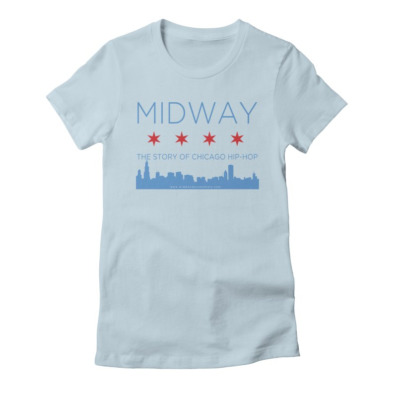 Midway (Chicago) Women's Fitted T-Shirt by Midway Shop