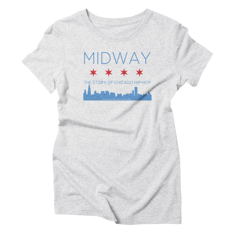 Midway (Chicago) Women's Triblend T-Shirt by Midway Shop