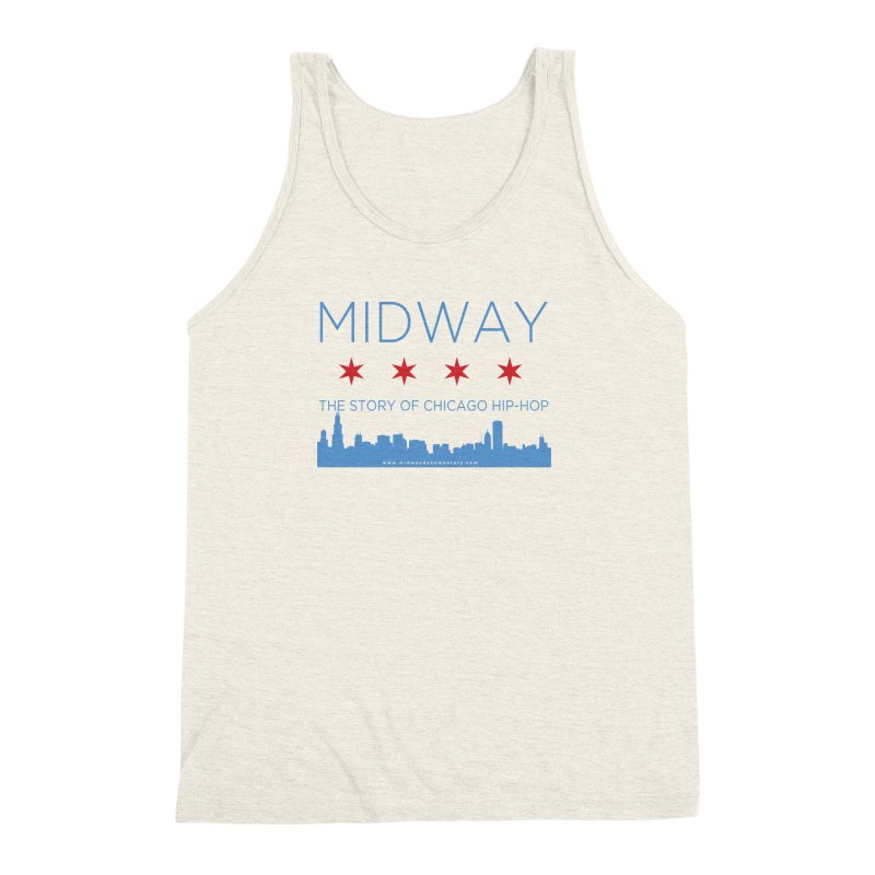 Midway (Chicago) Men's Triblend Tank by Midway Shop