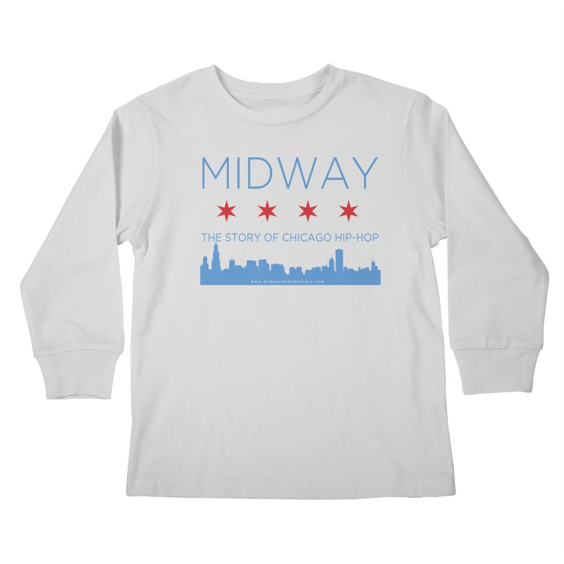 Midway (Chicago) Kids Longsleeve T-Shirt by Midway Shop