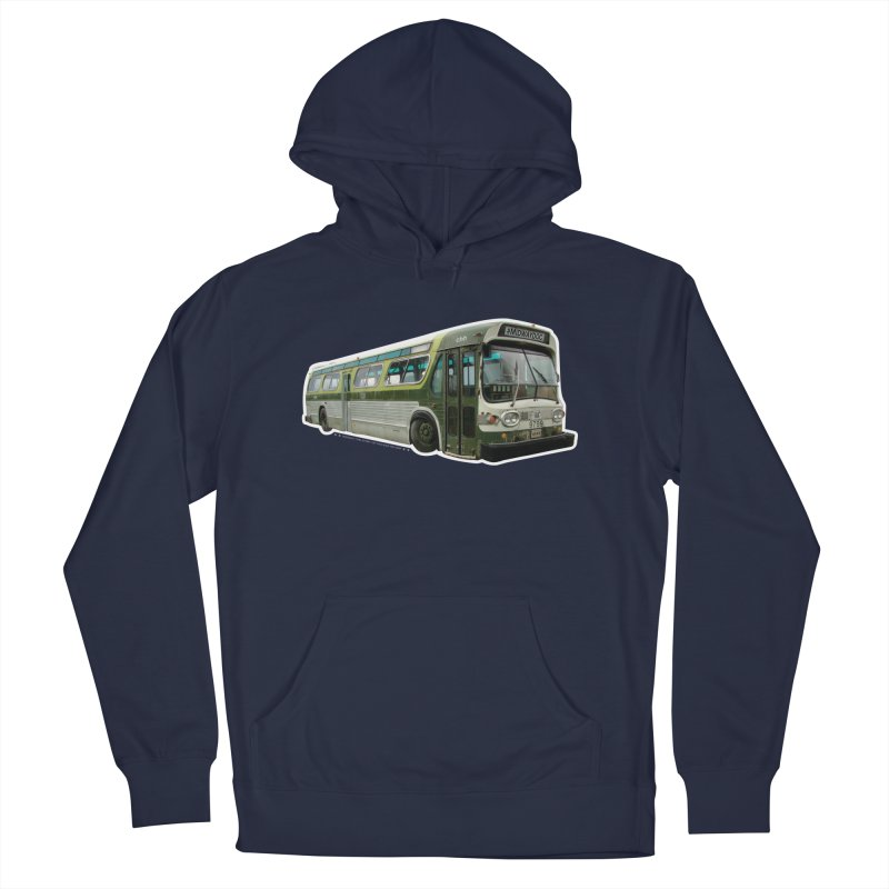 Bus Women's French Terry Pullover Hoody by Midway Shop
