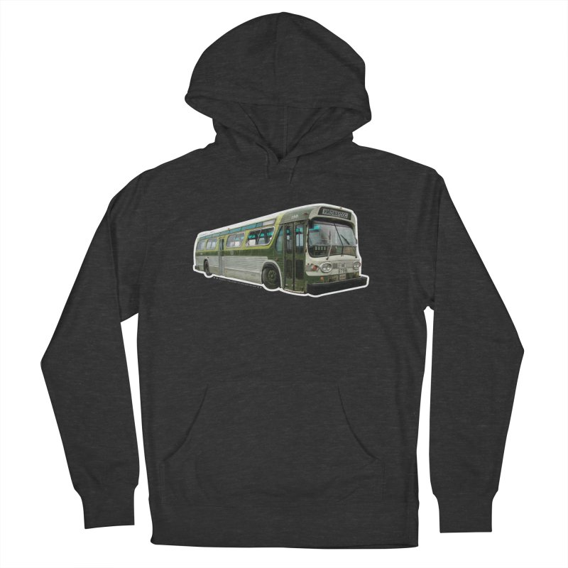 Bus Men's French Terry Pullover Hoody by Midway Shop