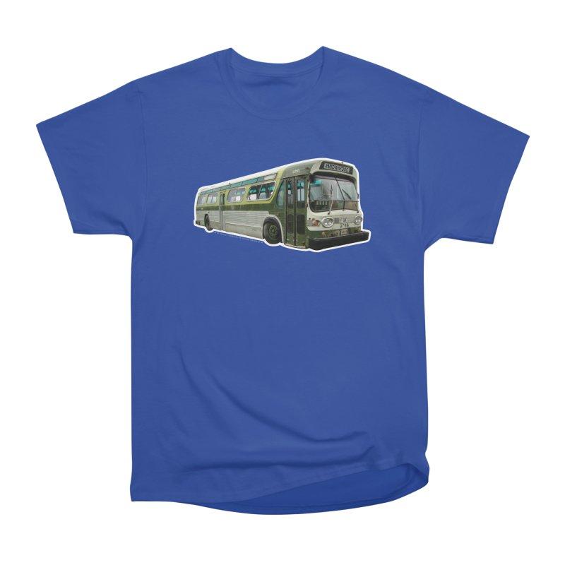 Bus Men's Heavyweight T-Shirt by Midway Shop