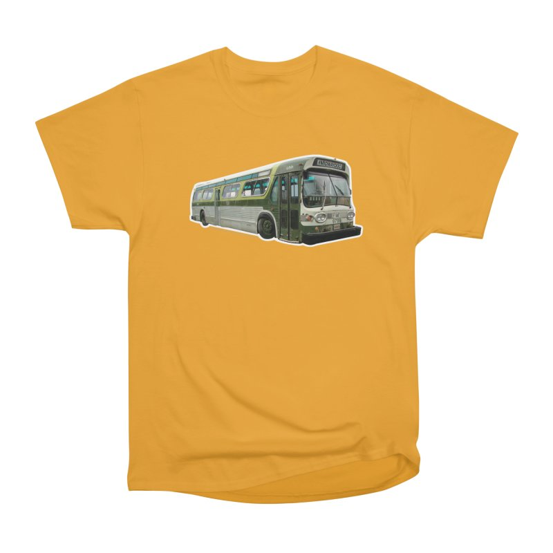 Bus Men's Heavyweight T-Shirt by Midway Shop
