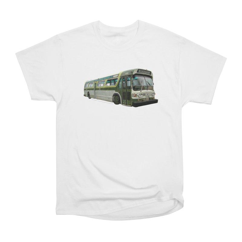 Bus Women's Heavyweight Unisex T-Shirt by Midway Shop