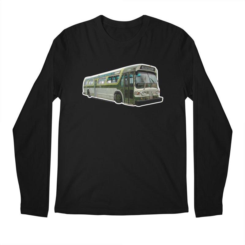 Bus Men's Regular Longsleeve T-Shirt by Midway Shop