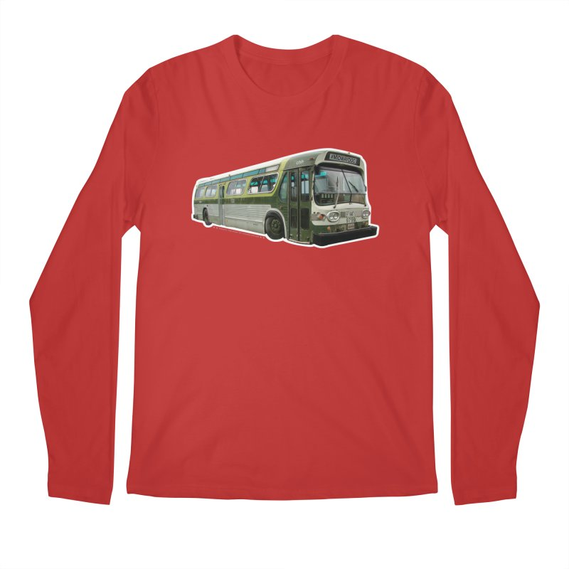 Bus Men's Regular Longsleeve T-Shirt by Midway Shop