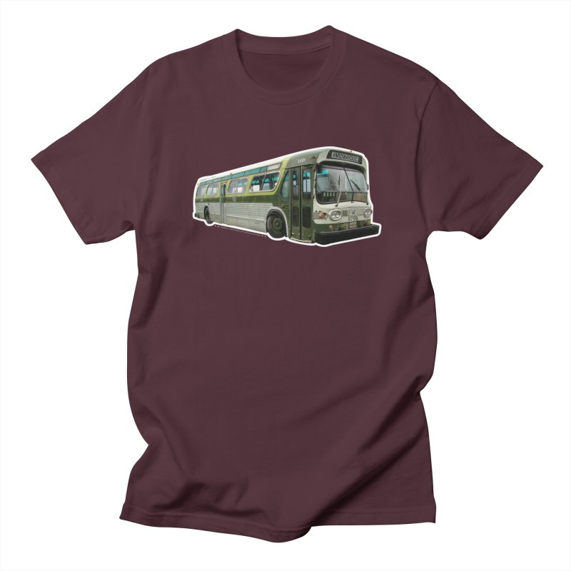 Bus Men's Regular T-Shirt by Midway Shop