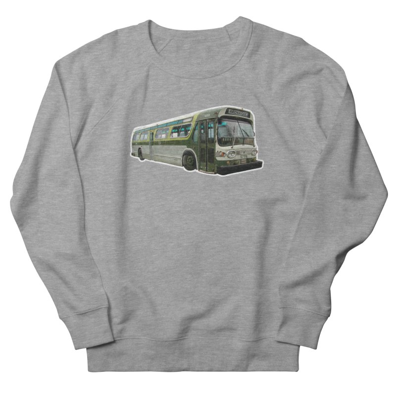 Bus Women's French Terry Sweatshirt by Midway Shop