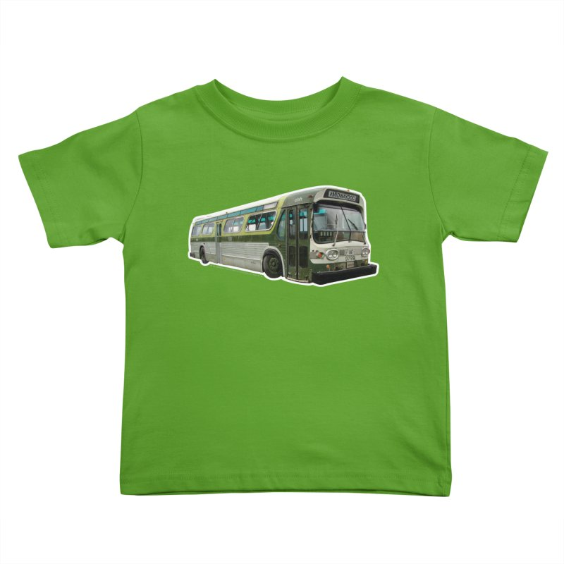 Bus Kids Toddler T-Shirt by Midway Shop