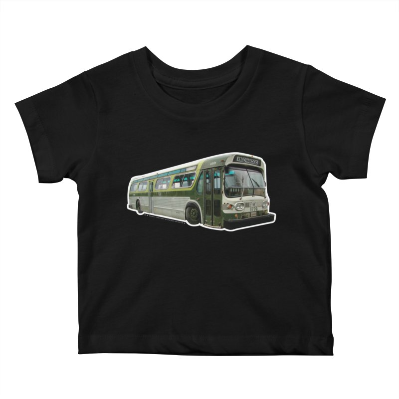 Bus Kids Baby T-Shirt by Midway Shop