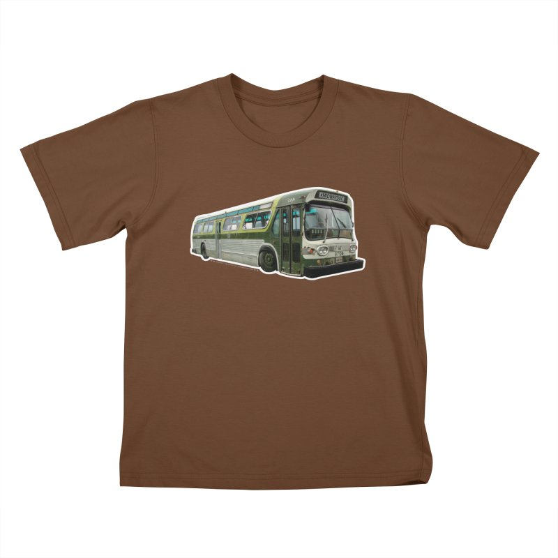 Bus Kids T-Shirt by Midway Shop