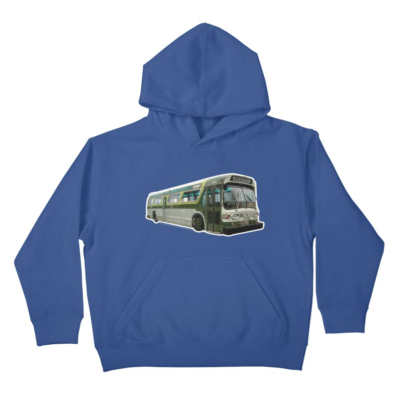 Bus Kids Pullover Hoody by Midway Shop