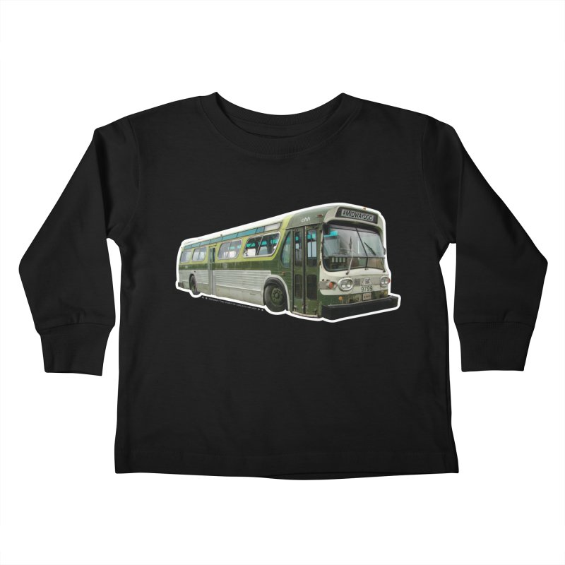 Bus Kids Toddler Longsleeve T-Shirt by Midway Shop