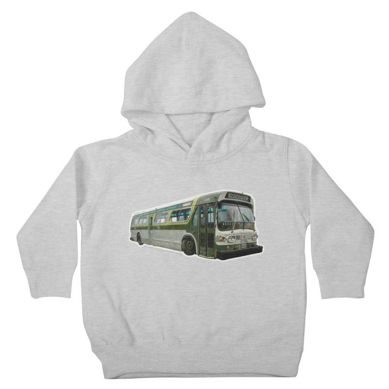 Bus Kids Toddler Pullover Hoody by Midway Shop