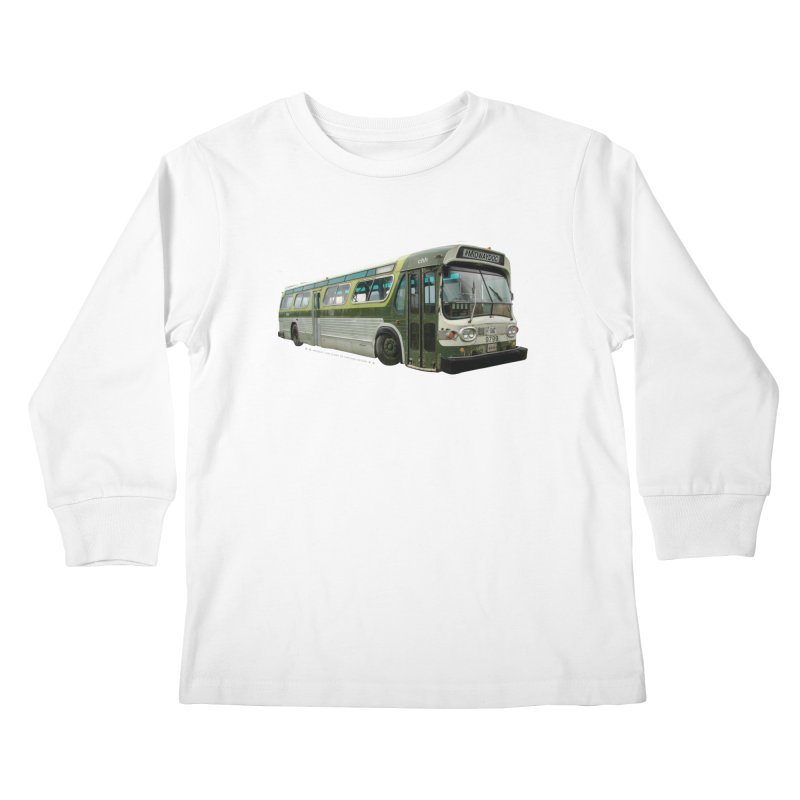 Bus Kids Longsleeve T-Shirt by Midway Shop
