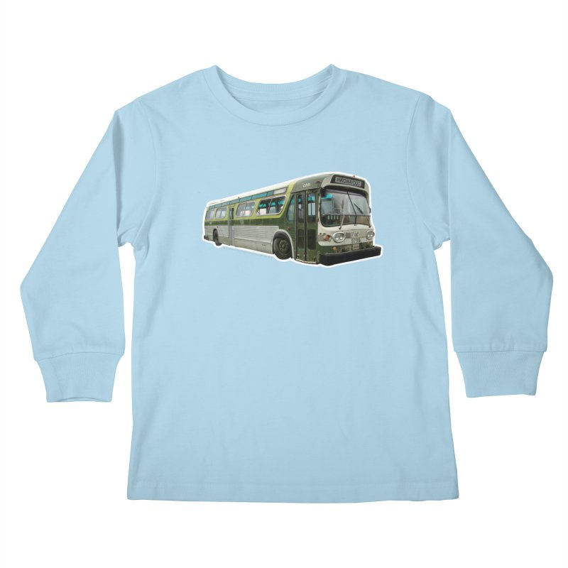 Bus Kids Longsleeve T-Shirt by Midway Shop