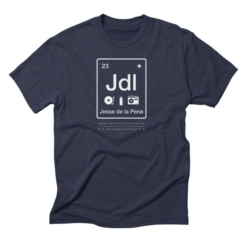 Elements: Jesse de la Pena Men's Triblend T-Shirt by Midway Shop