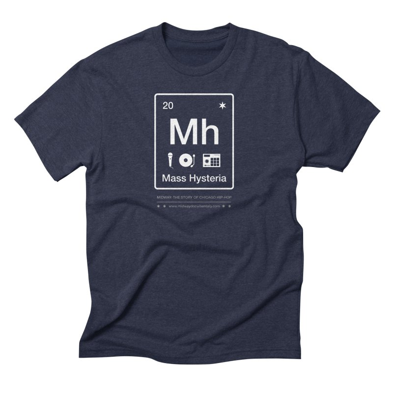 Elements: Mass Hysteria Men's Triblend T-Shirt by Midway Shop