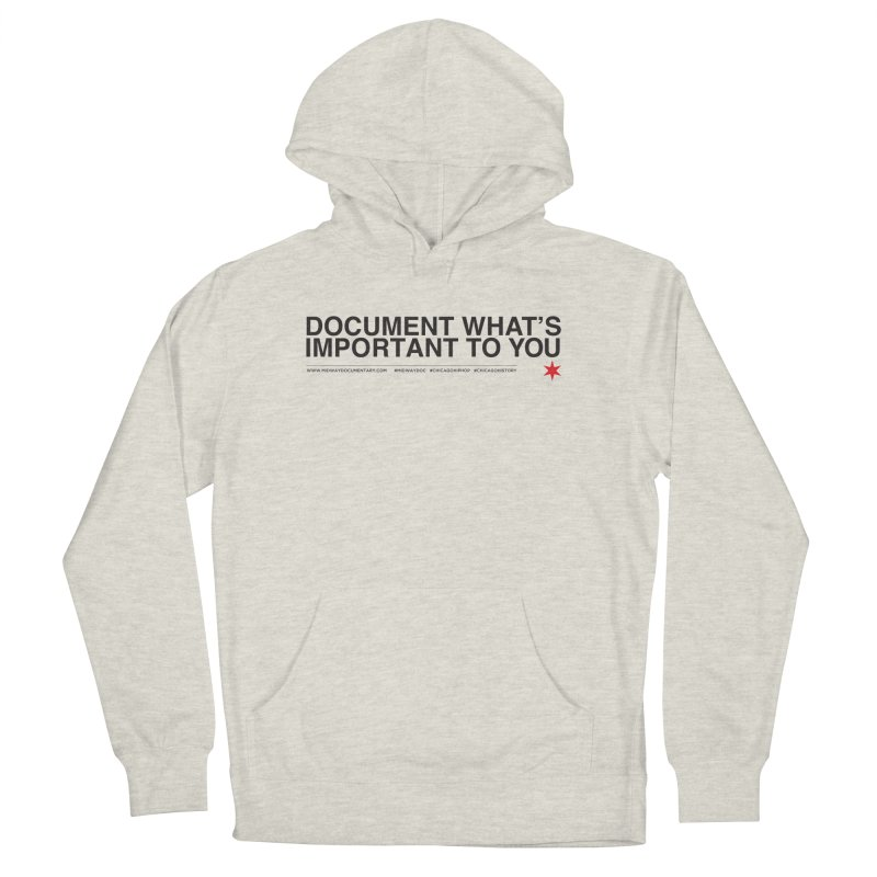 Document (Horizontal) Men's French Terry Pullover Hoody by Midway Shop