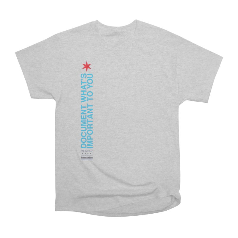 Document (Vertical) Men's Heavyweight T-Shirt by Midway Shop
