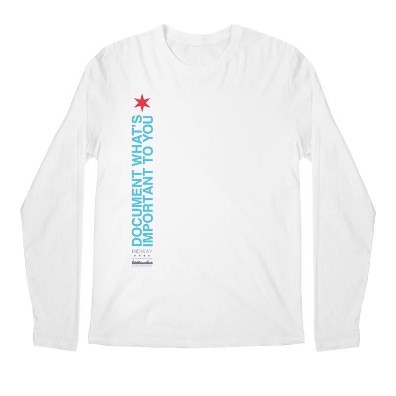 Document (Vertical) Men's Regular Longsleeve T-Shirt by Midway Shop