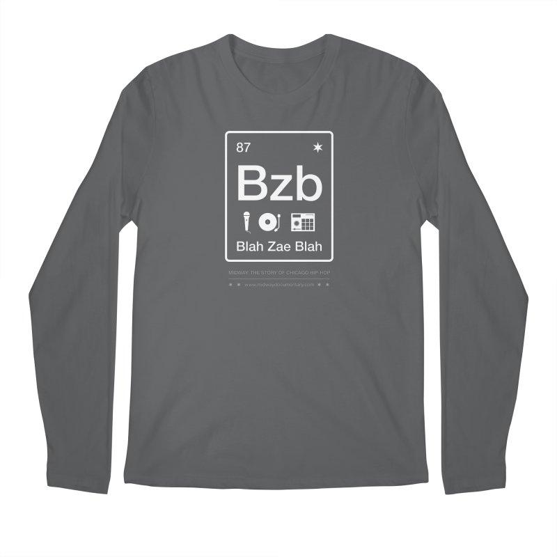 Elements: Blah Zae Blah Men's Regular Longsleeve T-Shirt by Midway Shop