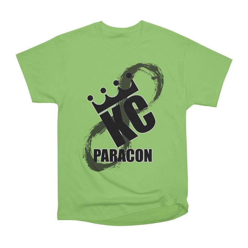 KC Paracon 2019 Men's Heavyweight T-Shirt by midwestbushcraftshow's Artist Shop