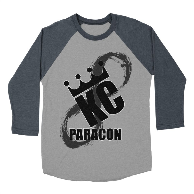KC Paracon 2019 Men's Baseball Triblend Longsleeve T-Shirt by midwestbushcraftshow's Artist Shop