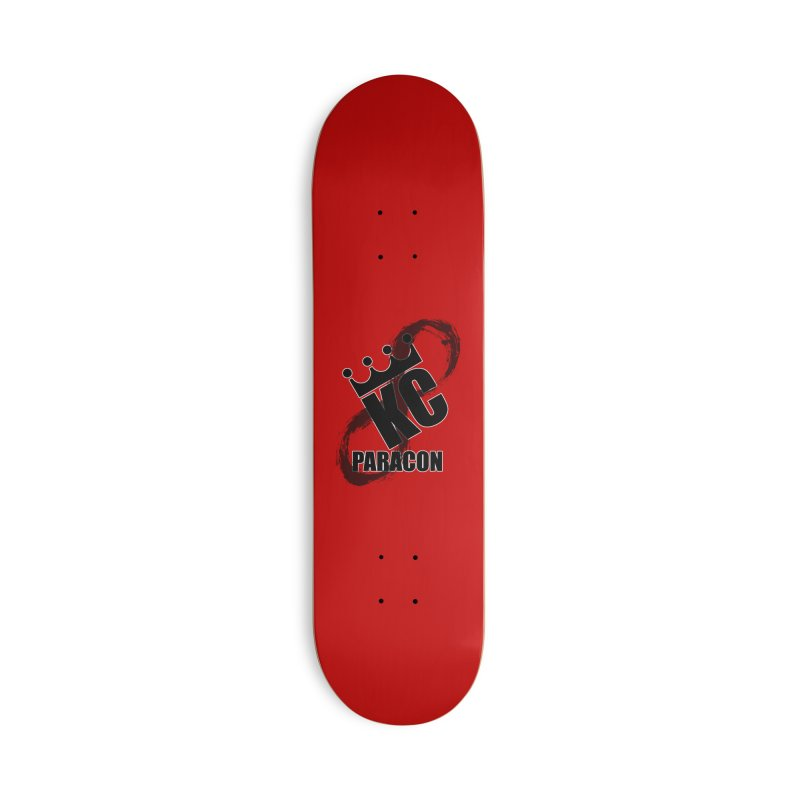 KC Paracon 2019 Accessories Deck Only Skateboard by midwestbushcraftshow's Artist Shop