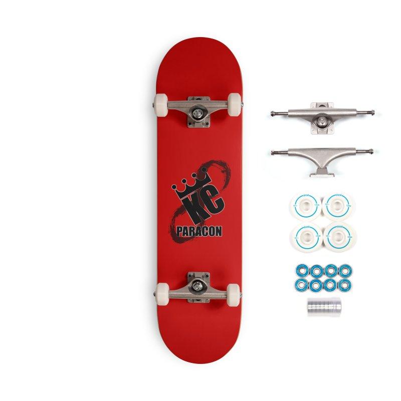 KC Paracon 2019 Accessories Complete - Basic Skateboard by midwestbushcraftshow's Artist Shop