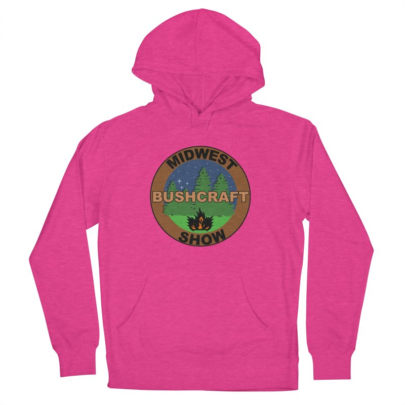 Official Show Logo Women's French Terry Pullover Hoody by midwestbushcraftshow's Artist Shop