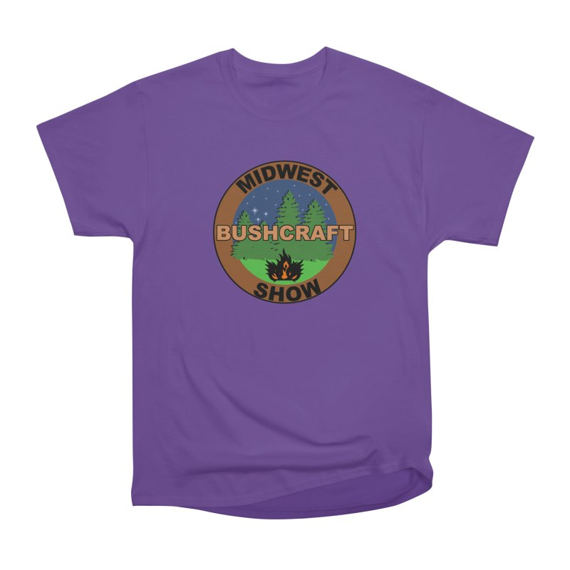 Official Show Logo Women's Heavyweight Unisex T-Shirt by midwestbushcraftshow's Artist Shop