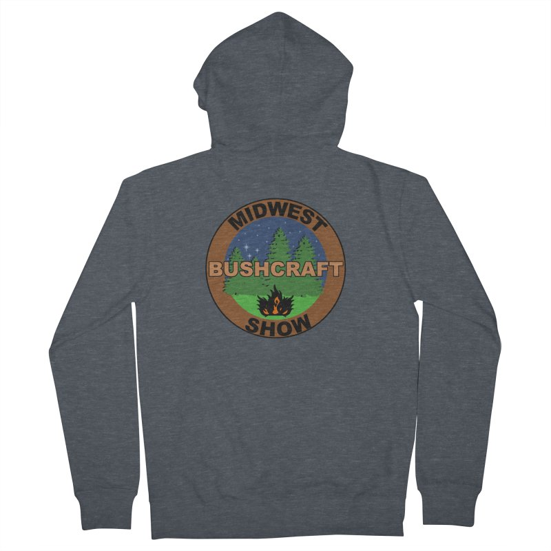 Official Show Logo Women's French Terry Zip-Up Hoody by midwestbushcraftshow's Artist Shop