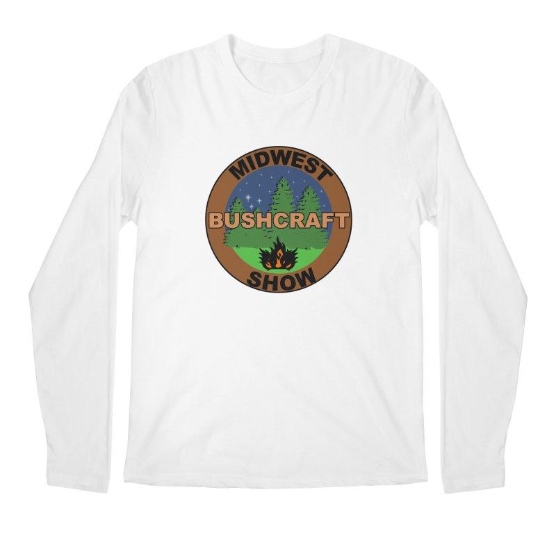 Official Show Logo Men's Regular Longsleeve T-Shirt by midwestbushcraftshow's Artist Shop
