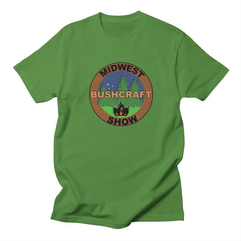 Official Show Logo Men's Regular T-Shirt by midwestbushcraftshow's Artist Shop