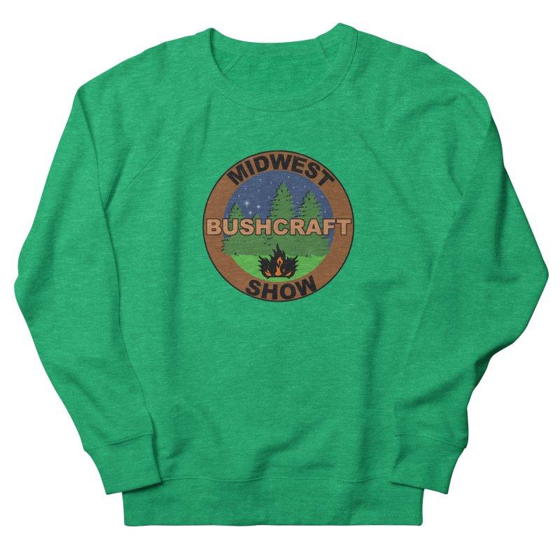Official Show Logo Women's French Terry Sweatshirt by midwestbushcraftshow's Artist Shop