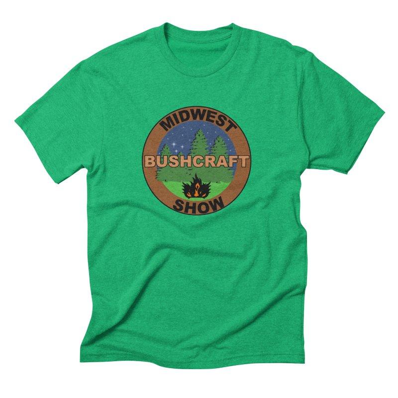 Official Show Logo Men's Triblend T-Shirt by midwestbushcraftshow's Artist Shop