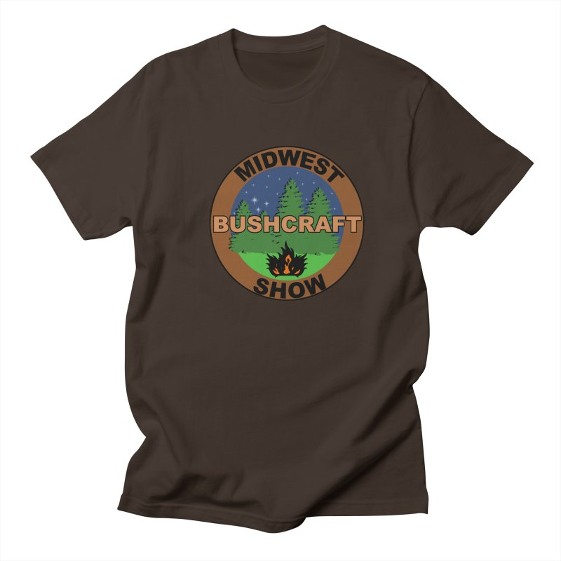 Official Show Logo Men's Regular T-Shirt by midwestbushcraftshow's Artist Shop