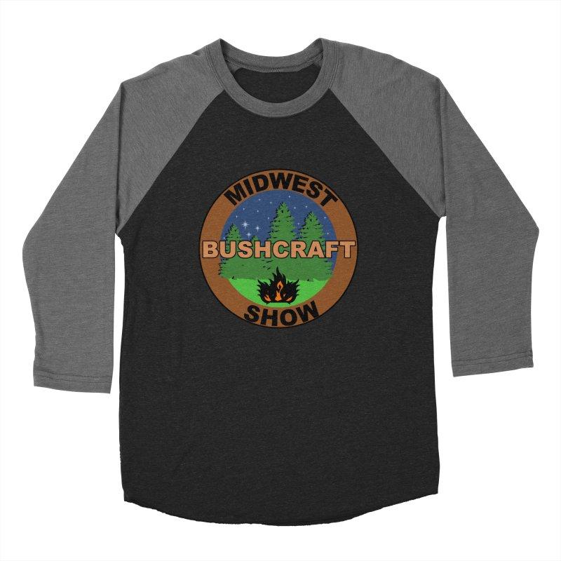 Official Show Logo Women's Baseball Triblend Longsleeve T-Shirt by midwestbushcraftshow's Artist Shop