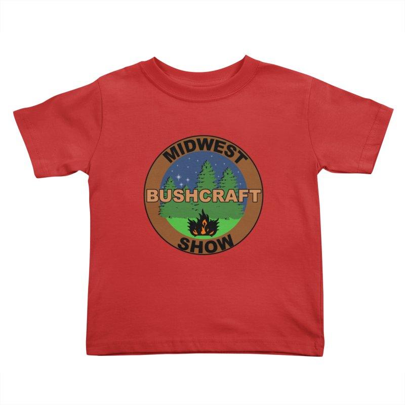 Official Show Logo Kids Toddler T-Shirt by midwestbushcraftshow's Artist Shop