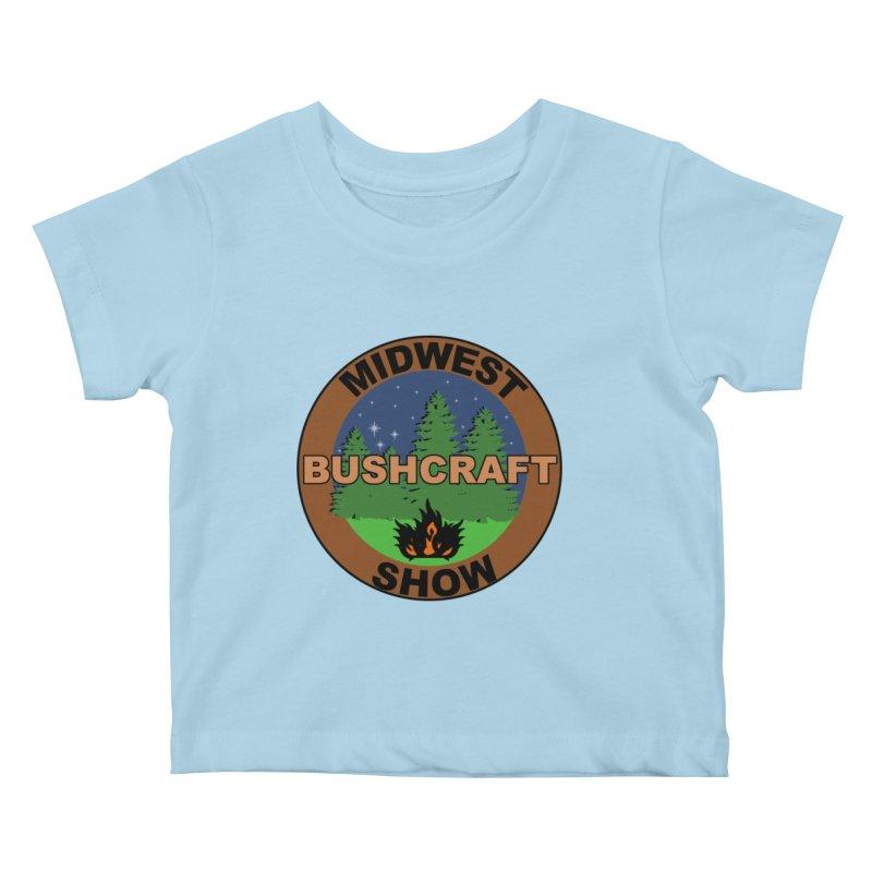 Official Show Logo Kids Baby T-Shirt by midwestbushcraftshow's Artist Shop